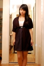dex clothing sweater - asos dress - Simons belt