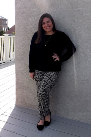 Forever 21 sweater - Forever 21 pants - DSW loafers