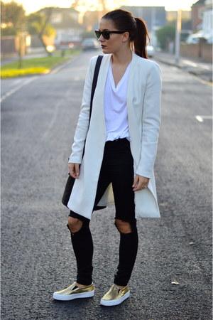 Choies jacket - asos jeans - asos flats