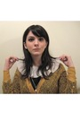 Gold-rodarte-for-target-cardigan-black-vintage-from-etsy-dress