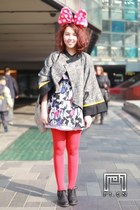 black Rocket Dog shoes - heather gray susan james coat - red department store ti