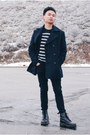 Black-boots-dr-martens-shoes-navy-navy-forever-21-coat-black-black-h-m-jeans