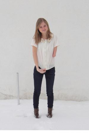 handmade blouse - joes jeans