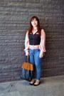 Blue-topshop-jeans-tawny-h-m-bag-black-cut-out-forever-21-vest