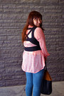 Blue-topshop-jeans-tawny-h-m-bag-black-cut-out-forever-21-vest