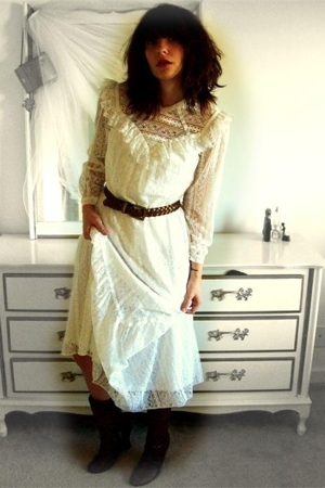 vintage andrade fine resort apparel dress - vintage from Search & Destroy belt -