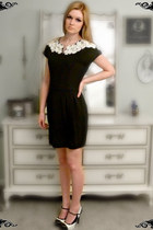 black harbor district vintage dress - black Rue 21 shoes