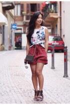 Zara shorts - Senso heels