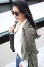 Line-dot-coat-zerouv-sunglasses-mango-blouse-boohoo-heels