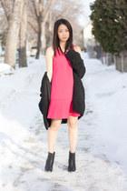 wilfred dress - rag & bone boots - wilfred jacket