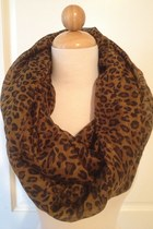 Leopard Infinity Scarf