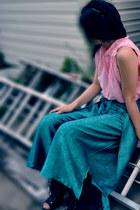 JC boots - Unlabeled Vintage pants - Sisley blouse