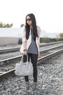 Bleulab-jeans-linen-h-m-blazer-fredericks-of-hollywood-bag