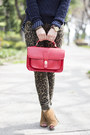 Red-britt-satchel-sole-society-bag-brown-sole-society-boots