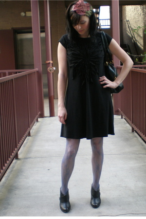 Newport News dress - enju accessories - Sofft shoes - Urban Outfitters tights -
