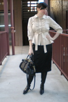 Manoush jacket - ziji skirt - Miu Miu purse - Zanotti shoes