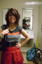 herritage dress - forever 21 skirt - forever 21 belt