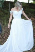 white wedding aviva dress