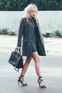 Charcoal-gray-bodycon-sheinside-dress-gray-coat-sheinside-coat