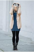 beige cable knit sammydress hoodie