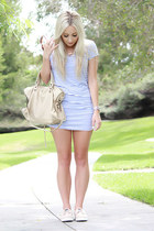 beige lamb skin balenciaga bag - beige boat shoes Sperry Top-Sider shoes