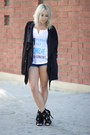Black-long-forever-21-jacket-white-tank-top-target-top