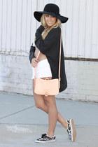light pink shoulder bag ted baker bag - black leopard print Forever 21 shoes