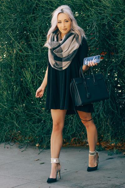 black back dress Forever 21 dress