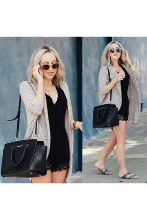 beige cat eye balenciaga sunglasses - beige long cardigan Nordstrom cardigan