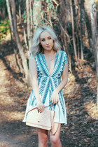 sky blue spring Make Me Chic dress