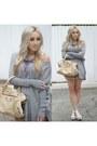 Heather-gray-oversized-unknown-brand-sweater-tan-leather-balenciaga-bag