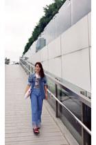 Zara jacket - Forever 21 jeans - H&M bag