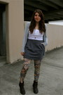 Threadsence-boots-forever-21-shirt-urban-outfitters-tights-forever-21-skir