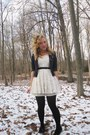 Ivory-forever21-dress-navy-old-navy-blazer-black-shoes-black-accessories-