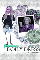 DO IT YOURSELF: Doily Dress