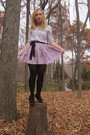 Silver-forever21-shirt-purple-the-childrens-place-skirt-black-steve-madden-s