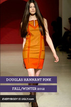 Douglas Hannant Pink Fall/Winter 2012
