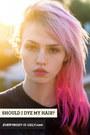 hot pink hair dye accessories