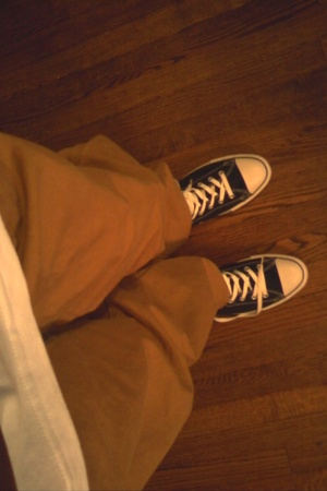 Dickies pants - Converse shoes