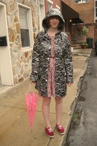 hm coat - dress - Keds shoes