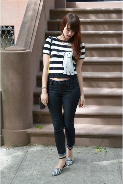 black CarMar jeans - Tibi shirt - black Rebecca Minkoff bag - shoemint flats