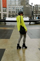 lime green t by alexander wang hoodie - black Urban Outfitters shoes