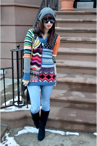 desigual sweater - black Urban Outfitters boots
