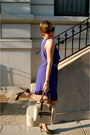 Gold-isabel-toledo-for-payless-shoes-blue-h-m-dress-nude-shiraleah-bag-aqu