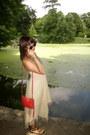 H-m-necklace-satya-jewlery-necklace-rampage-dress-red-rebecca-minkoff-bag