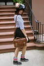 Cougar-boots-boots-black-h-m-hat-h-m-shirt-dark-brown-zara-bag