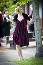 Burn-out-velvet-betsey-johnson-dress