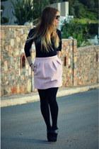 pink Zara skirt
