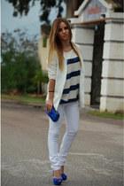 H&M blouse - Zara bag