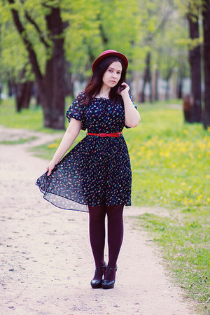 floral print miss patina dress